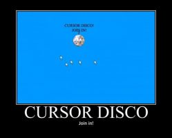 Poster - CURSOR DISCO by E-n-S
