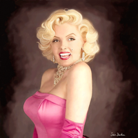 Marilyn Munroe by spookyjules