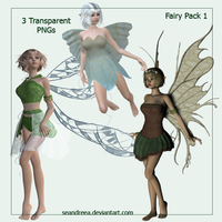 Fairy Render Package by seandreea
