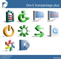 Dre-S Iconpackage plus_png by piscdong
