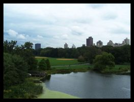 Central Park. by Bleezer