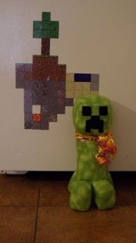 Minecraft Creeper Plushie by alistra1119