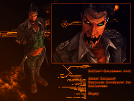 Hallow-Handsome Jack Recolor by a-m-b-e-r-w-o-l-f