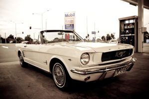 Mobil Mustang by aNdre-W