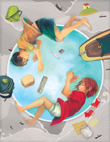Halcyon Fanbook: Ponyo by ah-bao