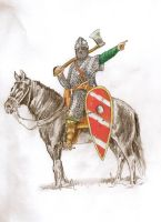 Norman Knight 11th Century Second Colour by mr-macd