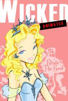 Wicked Animated: Glinda by favius