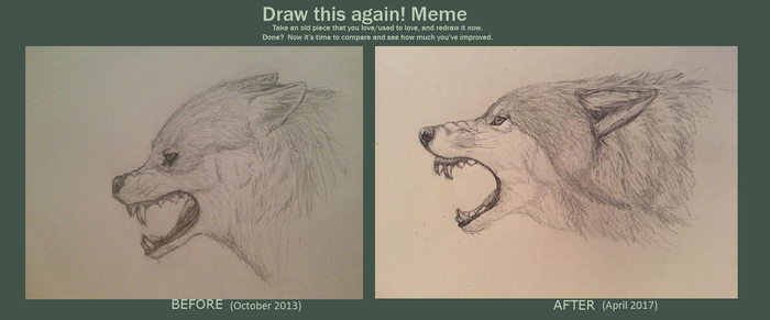 Draw This Again: Snarl by Night-Fury-Scream