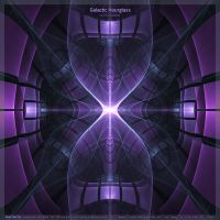 Galactic Hourglass by fractalyzerall