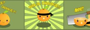 Ninja Orange by Poopinesses