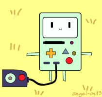 Paint BMO by angel-oni13