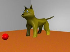 3d cat! by rwmtiger