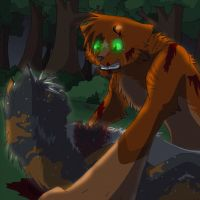 Spottedleaf's Death(Click link below to see full ) by Mana-ghostwolf
