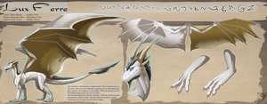 Ref Sheet Comish - Lux Ferre by TwilightSaint
