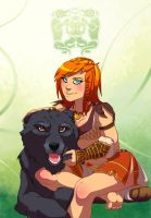 Abigaelle and Beck by Ibealia