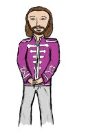 Sgt Pepper- Maurice Gibb by caspisan