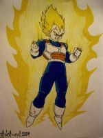 Prince of Saiyans by ArkAngel1284