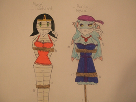 Request: Mimsy Hauntsford and Marsha Mystic DiD's by spyaroundhere35