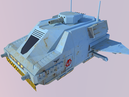 Space Ship Mini by CHARGERLEVANI