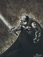 The Dark Knight by JeremiahLambertArt
