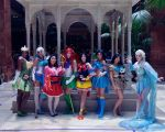 Disney Sailor Scouts by glitzygeekgirl