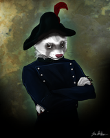 Inspector Javert by sugarpoultry