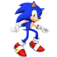 Legacy Sonic The Hedgehog Render (Mad Alt.) by Nibroc-Rock