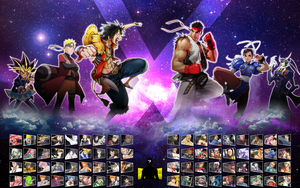 Shonen Jump vs Capcom Select by WahaAdnan