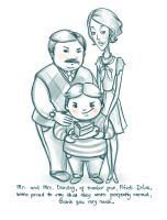 The Dursleys by kimpertinent