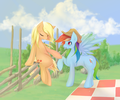 Poni Picnic by v-invidia