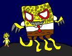 Boss Fight:Sonic EXE vs Hopeless Spongebob by Slendercell-2