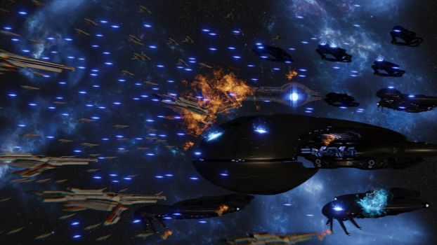 Battle for the Ismar Frontier Mass Relay by Amalgamation100