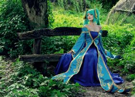 Sona Cosplay (League of Legends) by akuh-asteegh