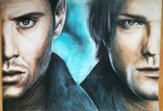 Carry On Wayward Son: Supernatural pencil drawing by itsanne