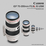 Canon EF 70-200 F2.8L IS by madewira