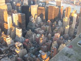 new york from above by eyesofpain