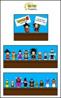 DBZ Puppet Pals Series One by Silvre
