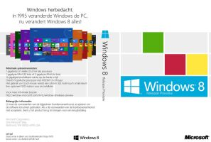 Windows 8 Release Preview DVD Cover (nl-NL) by Misaki2009