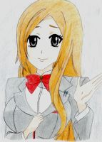 Orihime by Claybirdies