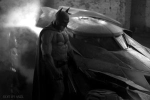 Batman Ben-Affleck edit by Axzl by AxzlRose
