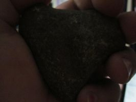 The Heart Shaped Rock that has a story to tell :( by IvyFlame64