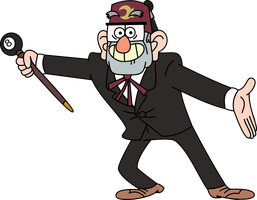 Grunkle Stan by MrCbleck