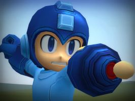 Megaman thing by The-Great-Fusilli