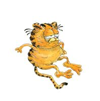 Childhood Totems - Garfield by macen