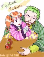 My Little Valentine (Zoro Nami) by BelleLoveZoro