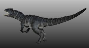 Allosaurus by Manuelsaurus