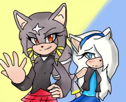 :Gift: Aisyah and Moneras for Sonic4ever760 by RainbowFlash101