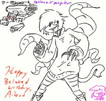 Happy burfday, Aibou by HWO