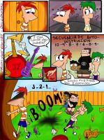 Pag. 33 'El Plan' Comic PnF by KarlaTerry