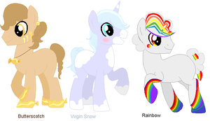 Pony Challenge Adoptables for Points- CLOSED by DoodleBug-Adoptable